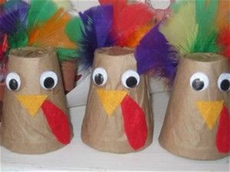 Paper Cup Turkey Craft - turkey craft idea for crafts and worksheets for