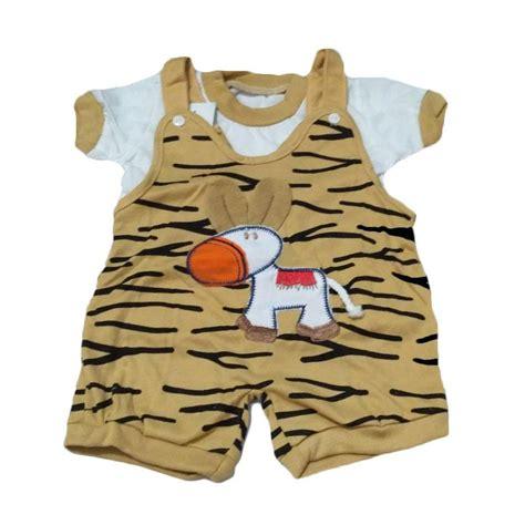 Baju Bayi Jumpsuit Stripe jual baby tom zebra baju kodok jumpsuit anak cokelat harga kualitas terjamin