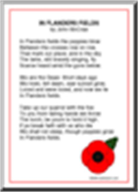 printable version of flanders fields veterans day free printable worksheets games and