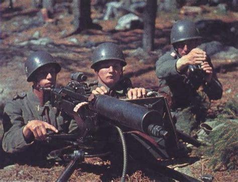 ww2 swedish infantry world war ii in color