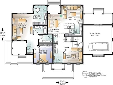 multi generational house plan floor plans