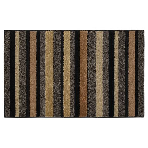 home accent rugs shop mohawk home 30 quot x 46 quot line up charcoal line accent