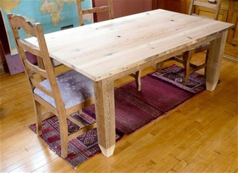 how to build a dining table from an old door and posts easy crafts and homemade decorating how to make an amazing dining table from reclaimed wood