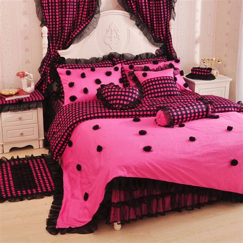 pink and black bedding popular black pink comforter buy cheap black pink