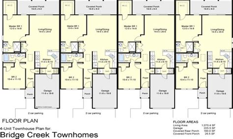 three plex floor plans 4 plex townhouse floor plans 4 plex apartment floor plans
