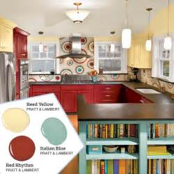 Bold red plus two more five no fail palettes for colorful kitchens