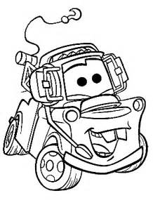 coloring books cars tow mater print free download