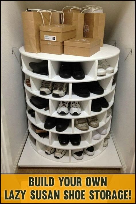 Top 5 Items To Keep In Your Closet For 08 by Lazy Susan Shoe Storage Plans 28 Images 25 Best Ideas