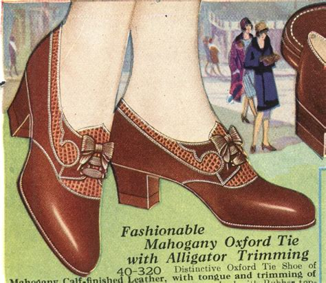 1920s oxford shoes history of 1920s fashion shoes