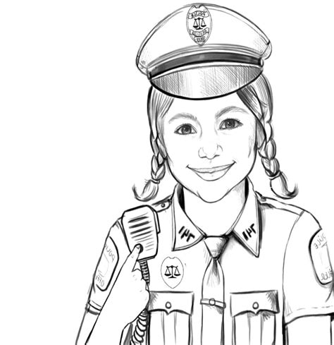 Officer Coloring Pages by Impressive Officer Coloring Pages Galle 4508