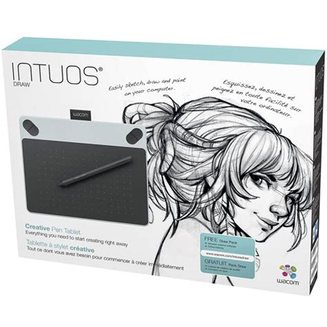 Wacom Intuos Draw Ctl490wo White wacom intuos draw pen tablet small white shop and ship
