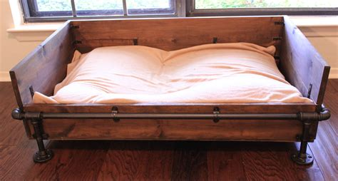 bedside dog bed how to make wooden dog beds plans free download