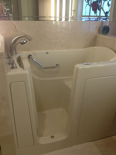 handicap accessible bathtubs handicapped accessible tub installed to day aging