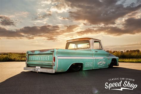And C10 1966 chevy c10 shop truck ccs speed shop