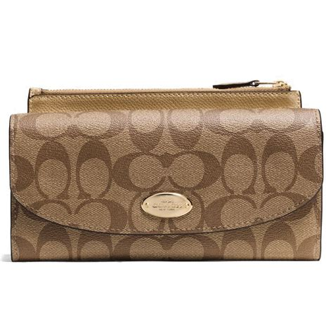Coach Slim Envelope Wallet spreesuki buy coach wallets