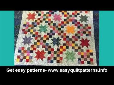easy quilt pattern youtube simple easy quilt patterns machine quilting irish chain