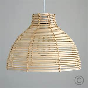 Basket Pendant Light Contemporary Wicker Basket Ceiling Pendant Light Shade Rattan Lshade 163 14 99 Picclick Uk