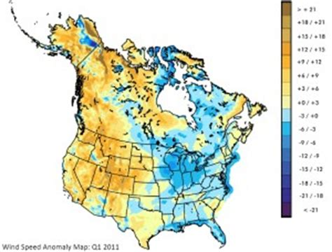 america wind map q1 wind report more than half u s at or above average