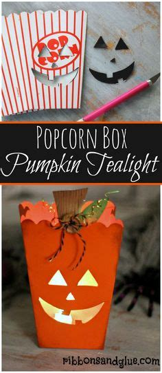 How To Make A Popcorn Box Out Of Paper - 1000 images about ribbons glue on