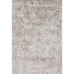 chandra rugs white shag rug dio14400