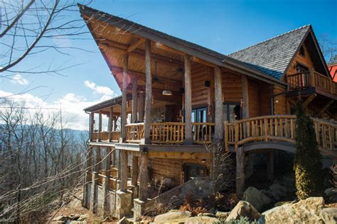 Log Cabins For Sale Carolina by Carolina Custom Log Homes Cedar Homes