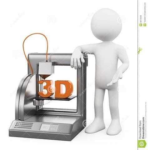 Printer Foto 3d 3d witte mensen 3d printer gesmolten deposito stock foto s beeld 36173043
