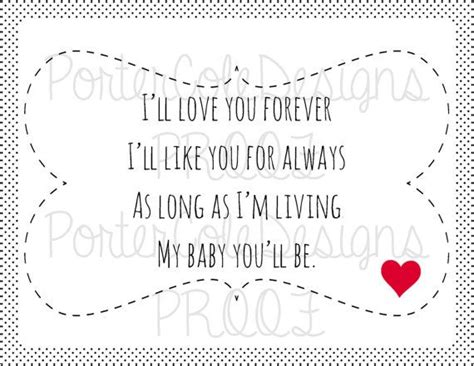 I Love You Forever Book Quotes by I Ll Love You Forever Children S Book Quote By