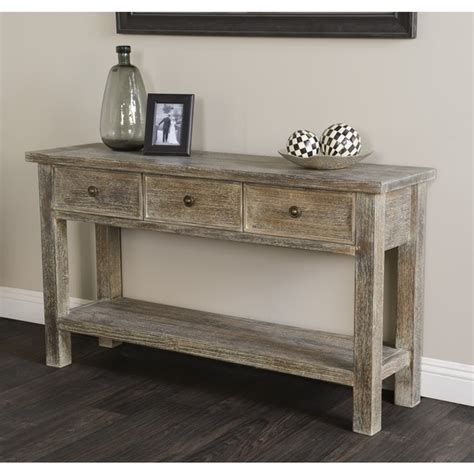 distressed wood sofa table distressed sofa tables sofa table design barnwood