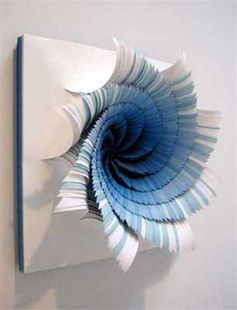 Paper Crafts For Wall Decor - wall decor ideas with paper recycled things