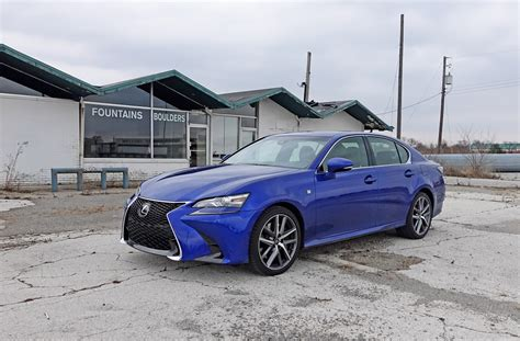 lexus gs 350 fsport 2017 lexus gs 350 f sport review