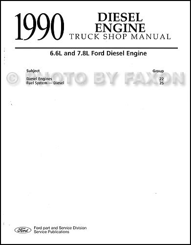 motor repair manual 1988 ford f series engine control search