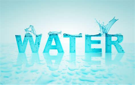 font design water water text in pixelmator