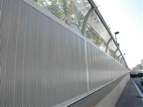 barriere antirumore per terrazzi barriere antirumore per strade e autostrade bosco italia spa