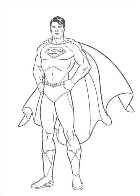 coloring book pages superman superman coloring pages to download and print for free