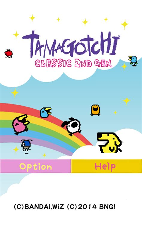 tamagochi apk tamagotchi classic 2nd 187 apk thing android apps free