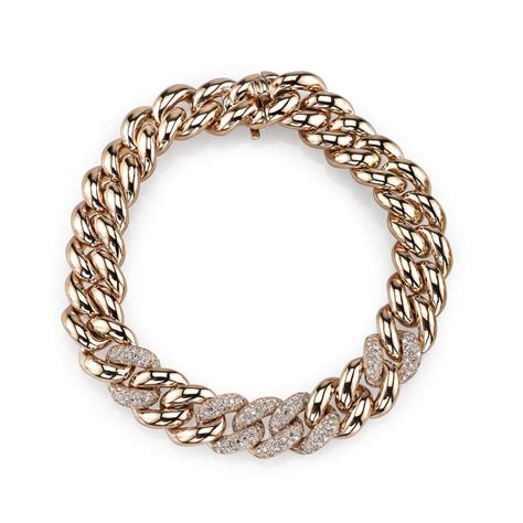 5 link pave essential link bracelet shay jewelry