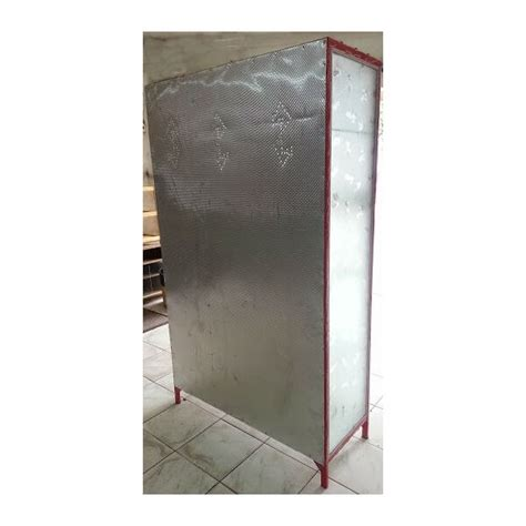 Rak Piring Tinggi rak piring aluminium box 3 pintu