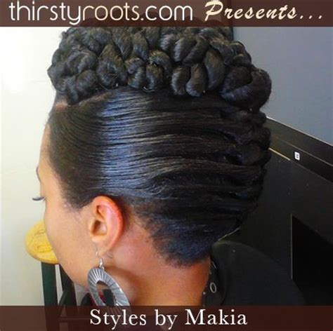Twisted Updo Hairstyle Rockin It Pinterest | twisted updo hairstyle rockin it pinterest