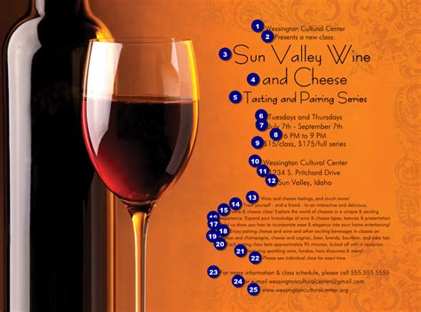 wine flyer template wine flyer canada ticket printing