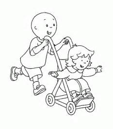 Caillou Cartoon Coloring Pages Caillou Coloring Page
