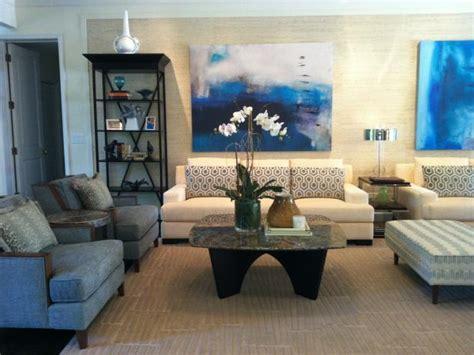blue and cream living room blue and cream contemporary living room hgtv