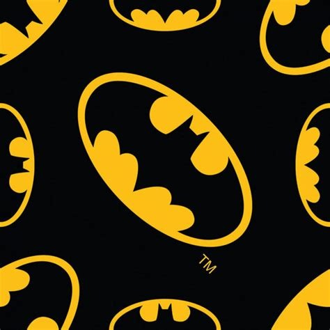 batman wallpaper material batman logo flannel fabric on black background from