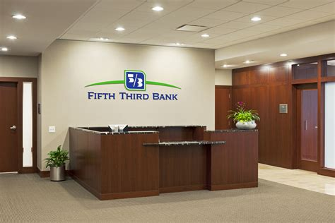 Front Desk Hq by Fifth Third Bank Rodgers Builders Inc