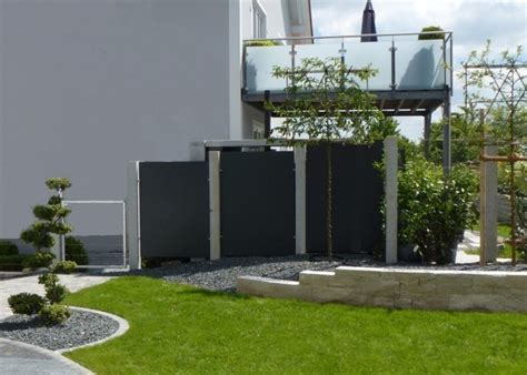 terrasse zaun sichtschutz terrasse modern bildergalerie gartenzaun