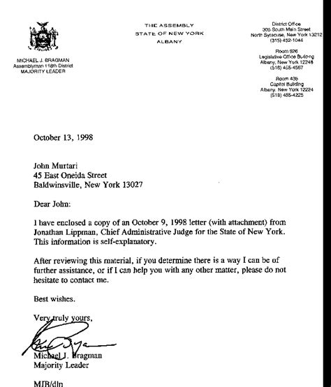 Legislative Support Letter Template Legislative Help Right To Jury Trial On Custody