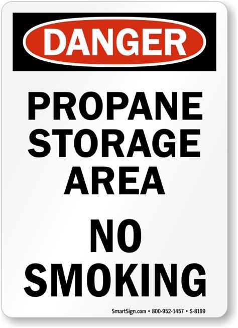 fuel storage no smoking sign osha danger sku s 1846 osha propane storage ppi blog