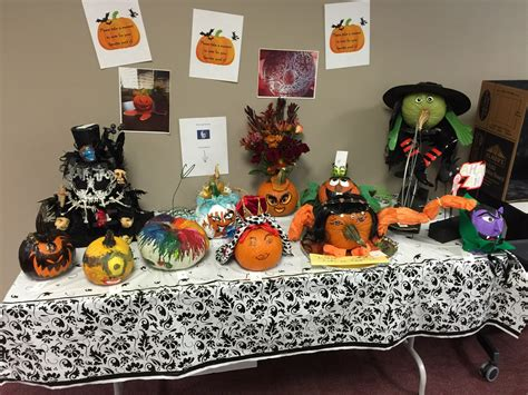 our pumpkin decorating contes american