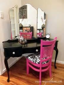 Makeup Vanity Zebra Chair Diy Vanity Home Decor
