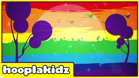 what color is the rainbow rainbow colors song learn colors for children with