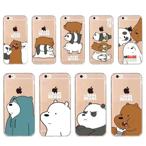 We Bare Bears Grizzly Iphone All Hp buy animation phone for iphone 7plus 6plus 5s we bare bears grizzly panda